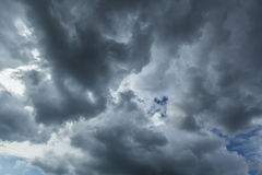Cloudscape шторма Стоковое Изображение RF
