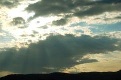 Cloudscape Fotografia Stock