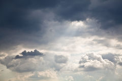 Cloudscape. High resolution image of cloudy sky. Great detail, noiseless Royalty Free Stock Images