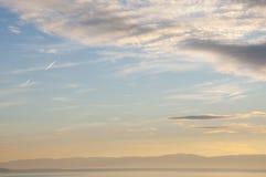 Cloudscape fotografie stock