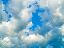 Cloudscape Fotografia Stock Libera da Diritti