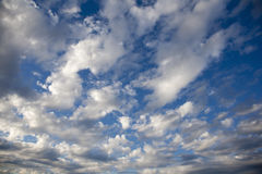 Cloudscape. Beautiful cloudscape at storm approaches Stock Photography