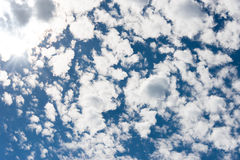 Cloudscape Fotografie Stock Libere da Diritti