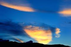 cloudscape Royaltyfri Fotografi