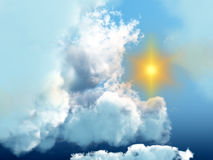 Cloudscape 5 Royalty Free Stock Images