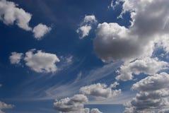 cloudscape Στοκ εικόνες με δικαίωμα ελεύθερης χρήσης