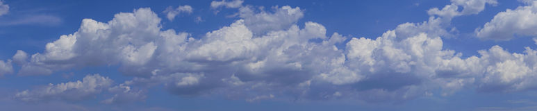 Cloudscape Imagem de Stock Royalty Free