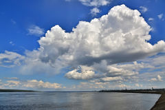 Cloudscape Foto de Stock Royalty Free