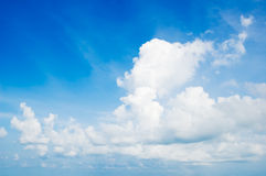 Cloudscape. Blue Sky Stock Images