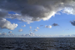 Cloudscape. Black Sea. Crimea. Ukraine Royalty Free Stock Image