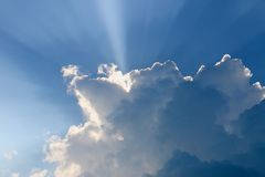 cloudscape Stockfotografie