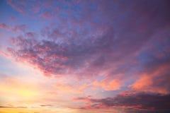 cloudscape 免版税库存图片