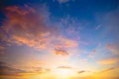 cloudscape obraz royalty free
