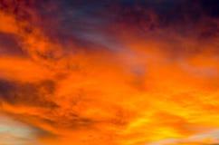 cloudscape Arkivfoto