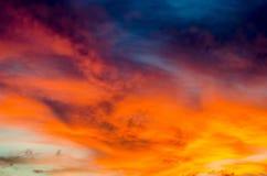 cloudscape Royaltyfri Foto