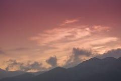 Cloudscape Στοκ Εικόνα