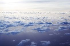 Cloudscape from above Stock Photography
