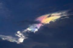 Cloudscape abstracto del color Fotos de archivo libres de regalías