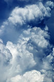 cloudscape abstrait de fond Photographie stock libre de droits