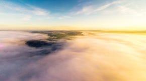 Cloudscape ad alba Immagine Stock Libera da Diritti