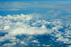 Cloudscape aereo. Fotografia Stock