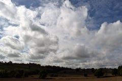 Cloudscape Alfreton derbyshire Royaltyfri Foto