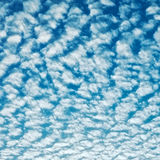 Cloudscape With Altocumulus Clouds Stock Image