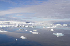 Cloudscape in Antarctic Sound Stock Photography