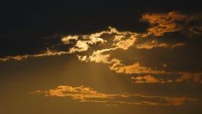 Cloudscape au coucher du soleil Photographie stock
