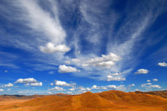 Cloudscape Background Royalty Free Stock Photography