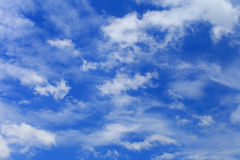 Cloudscape background Royalty Free Stock Image