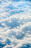 Cloudscape background . Blue sky and white cloud. For your content Royalty Free Stock Photo