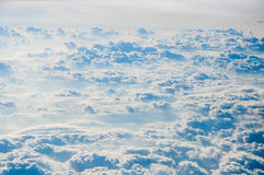 Cloudscape background . Blue sky and white cloud. Royalty Free Stock Photo