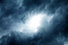 Cloudscape Background Royalty Free Stock Photos