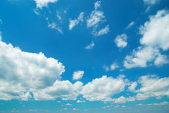 Cloudscape. Beautiful cloudscape can be used for background Royalty Free Stock Photography