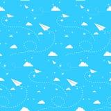 cloudscape bezszwowy Obrazy Royalty Free