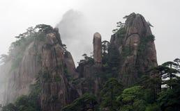 Cloudscape bild av Huangshan Arkivbilder
