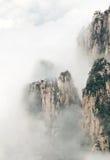 Cloudscape bild av Huangshan Royaltyfria Foton