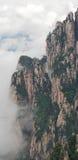 Cloudscape bild av Huangshan Arkivbild