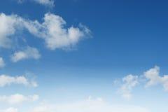 Cloudscape blauwe hemel Stock Afbeelding