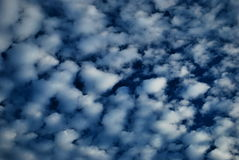 Cloudscape in blue sky Royalty Free Stock Images