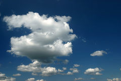 Cloudscape in blue sky Stock Image