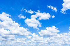 Cloudscape with Blue Sky Royalty Free Stock Photo