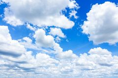 Cloudscape with Blue Sky royalty free stock photography