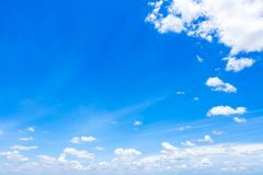 Cloudscape with Blue Sky stock images