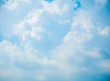 Cloudscape on blue sky Stock Photo