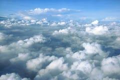 Cloudscape blue sky Stock Images