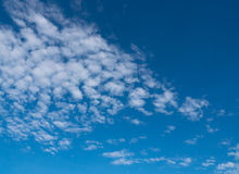 Cloudscape. On blue sky and white cloud Stock Images