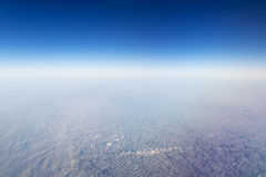 Cloudscape. Blue sky and white cloud. Royalty Free Stock Photography
