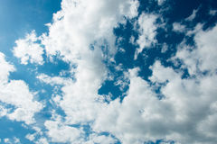 Cloudscape of bright Royalty Free Stock Photography